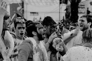 Ritual Berdarah dalam Peringatan Hari Ashoura di Libanon