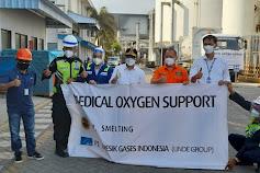 Bantu Penyediaan Oksigen Tangani Covid, PT Smelting Kurangi Produksi