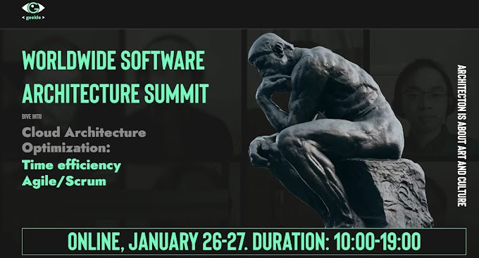 Worldwide software architecture conference 2021