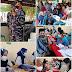 Hari Ketiga Serbuan Vaksin TNI AL Koarmada II Di Pulau Bawean, Beberapa Pos Harus Kehabisan Stok Vaksin