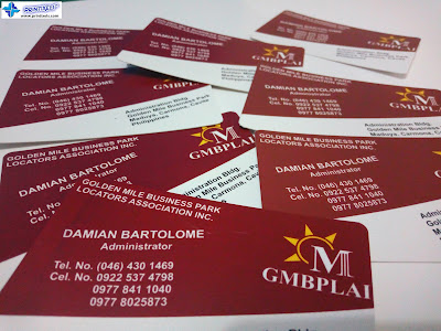 Calling Cards with Round Corners - GMBPLAI