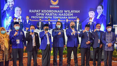 Rakorwil Partai Nasdem Telah Usai, Siti Rohmi Gagal Dapat KTA