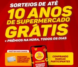Cadastrar Promoção Super Sorte Gbarbosa 10 Anos Compras Grátis e Prêmios na Hora