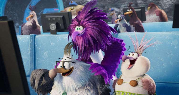 Los villanos de 'Angry Birds 2'