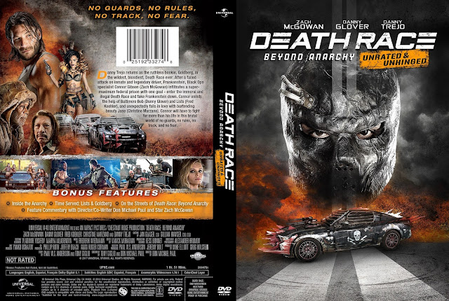 Death Race 4: Beyond Anarchy DVD Cover