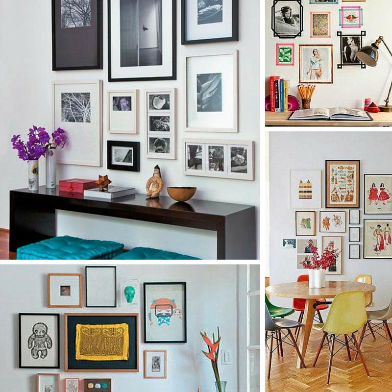 Deliciously at home fam lia maternidade decora o lifestyle decor 40 ideias para - Molduras para paredes ...