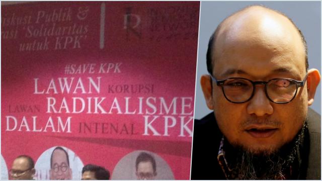 Isu Lama soal Taliban di KPK Beredar Lagi, Novel: Dihembuskan Pendukung Koruptor