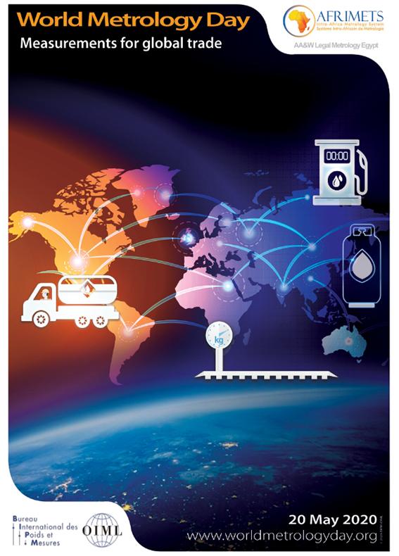 國際度量衡局(BIPM)公布今年(2020)主題為「支撐全球貿易的量測技術發展 (Measurement for global trade)」