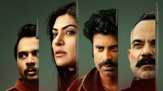 sushmita sen, namit das, sikandar kher, manish chaudhary in web series 'Aarya'