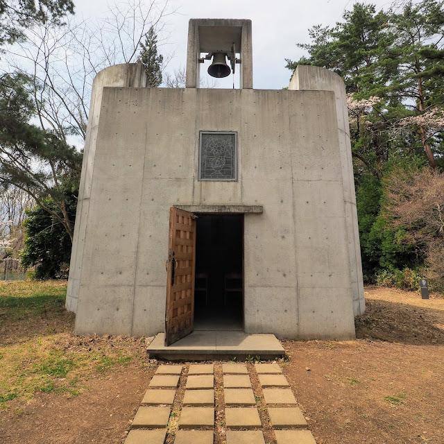 清春芸術村 ジョルジュ・ルオー記念館(礼拝堂)谷口吉生