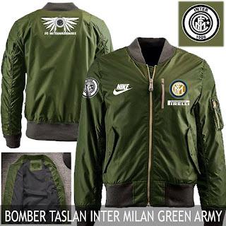 Jaket Bomber Jokowi Inter Milan