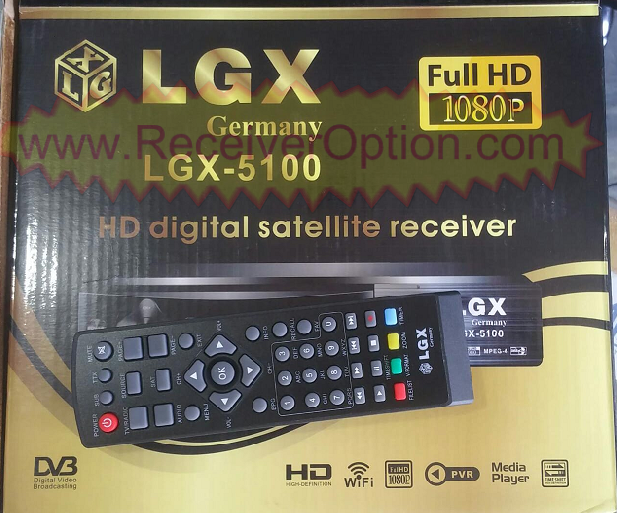 LGX-5100 HD RECEIVER TEN SPORTS OK NEW SOFTWARE