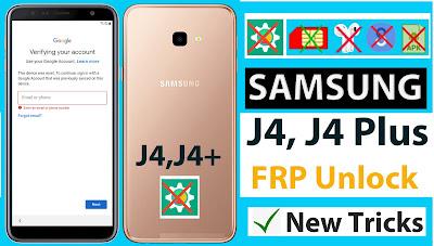 Samsung J4 Plus FRP Bypass NO SIM NO Play Service Hidden Fix