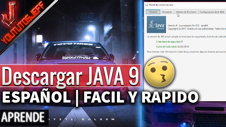 Descargar Java 9 Gratis en Español