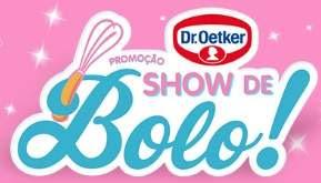 Cadastrar Promoção Dr. Oetker Show de Bolo 2018 10 Mil Reais Batedeiras Kits