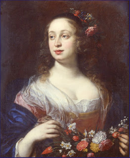 Vittoria della Rovere, a portrait by the Flemish painter Justus Sustermans, circa 1639
