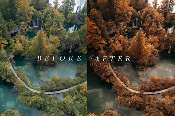 *NEW PRESETS!*Fall Lightroom Preset - Autumn Look Film Preset