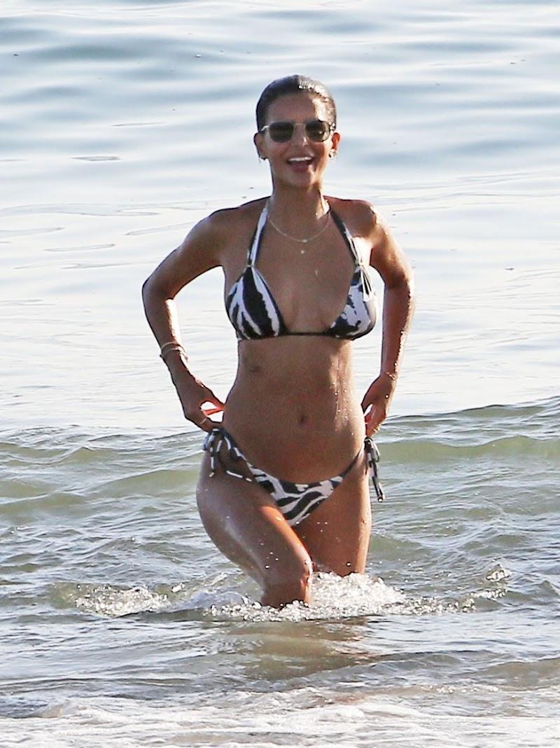 Marcela Braga Clciked in a Bikini  Beach in Santa Monica 5 sep- 2020