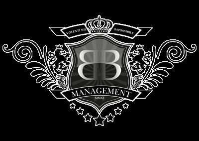 Crazy youths design logo bb management for Logo bb