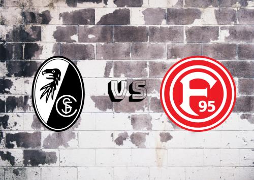 Freiburg vs Fortuna Düsseldorf  Resumen