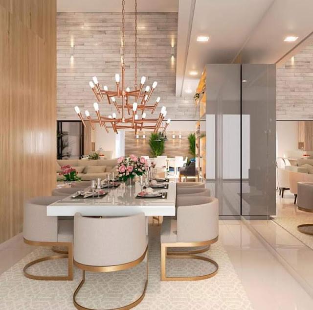 تصميمات راقية لغرفة السفرة .. البساطة في أجمل أشكالها