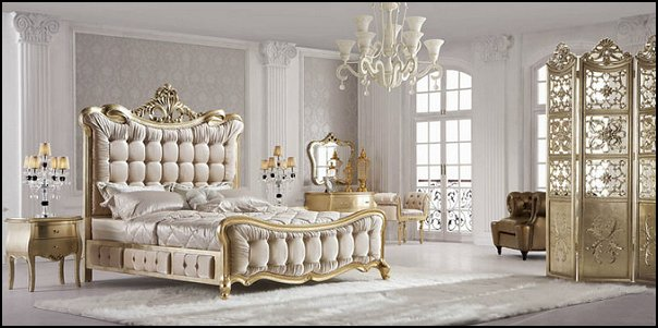 Marvelous Luxury Bedroom Designs   Marie Antoinette Style Theme Decorating Ideas    French Provincial Furniture Baroque Style