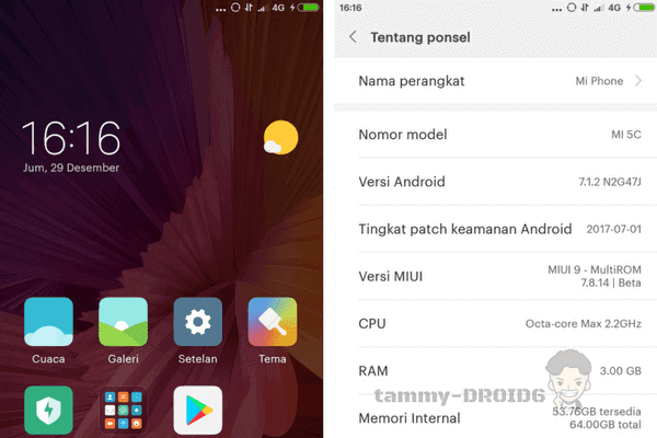 Multirom Bahasa Indonesia Xiaomi Mi5C + Instal TWRP