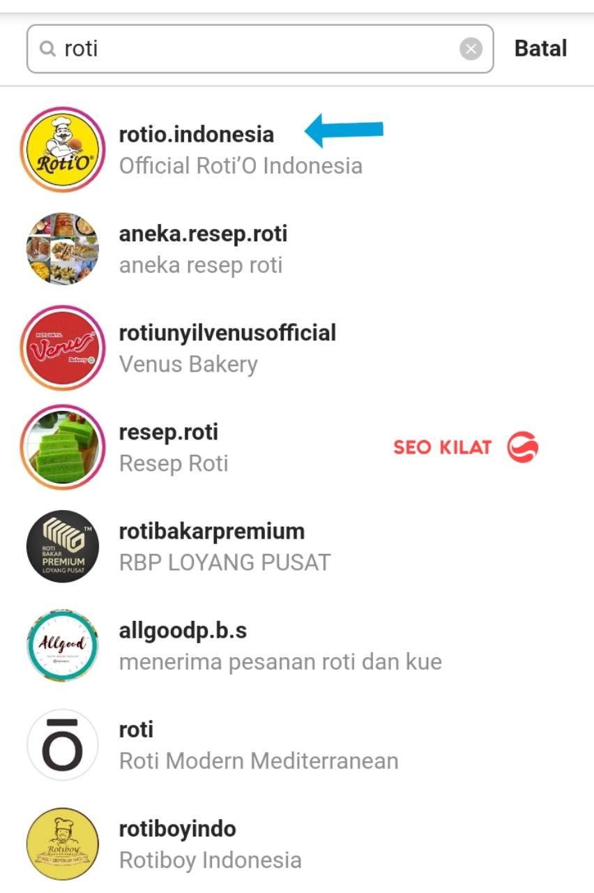 cara optimasi seo Instagram