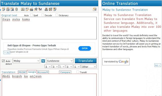 Situs penerjemah bisa kita gunakan untuk mengetahui bahasa absurd dengan gampang 10 Situs Penerjemah Bahasa Terbaik & Akurat yang Bisa Kamu Gunakan