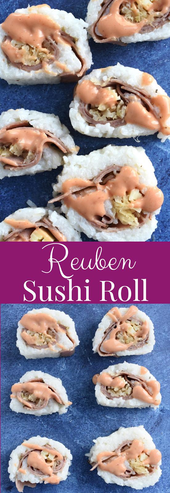 Reuben Sushi Roll recipe