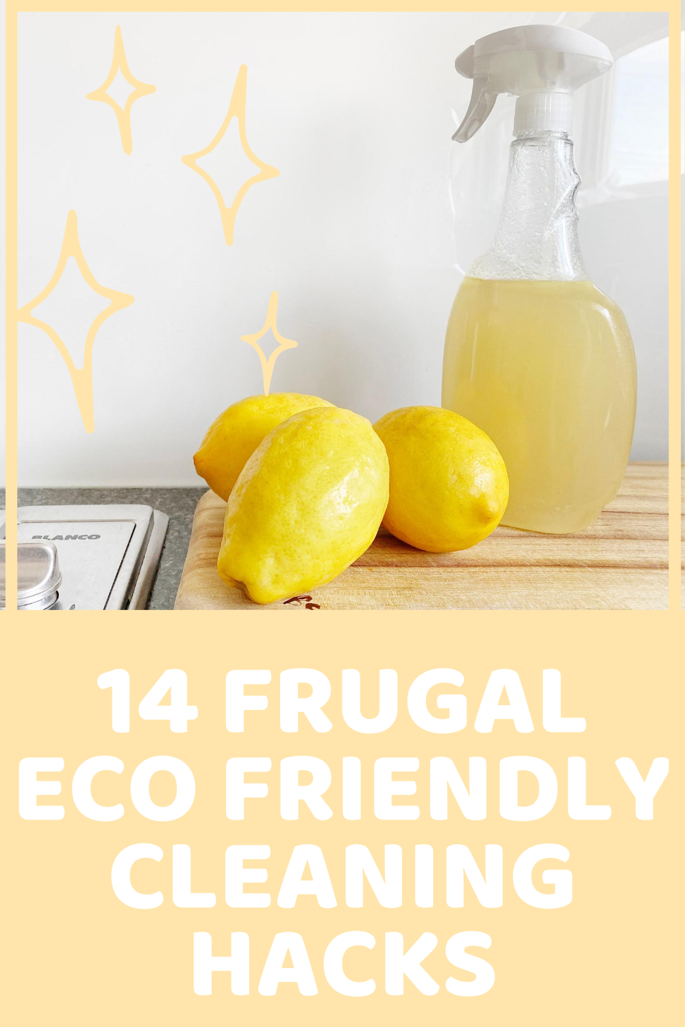 14 Frugal Eco Friendly Cleaning Hacks