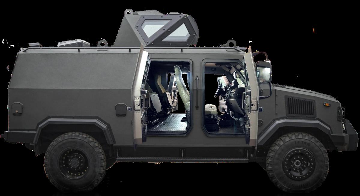 Ukrainian company Praktika delivered 60 Kozak-5 armored vehicles to Saudi Arabia