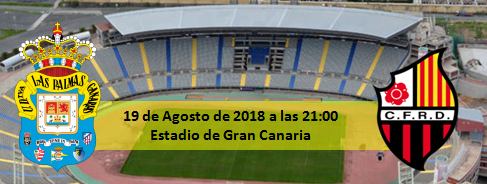 Previa UD Las Palmas - CF Reus 21:00h