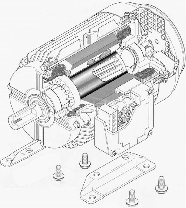 Ac Motor Explained Ac Motor Kit Picture