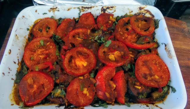 Happy Retirees Kitchen Borani Banjan Layered Afghan