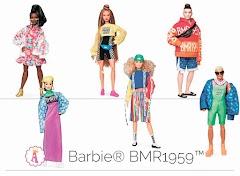 Модные куклы Barbie BMR1959: Барби представители уличной моды