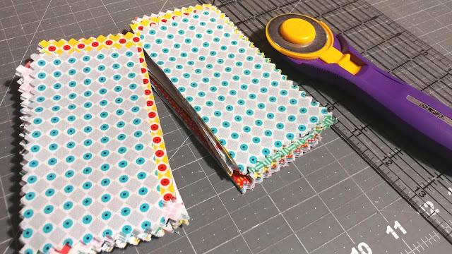Cutting Uppercase Volume II fabric