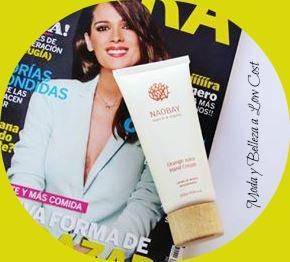 Con la revista Clara de Marzo 2016 regalan una crema de manos de naranja de Naobay