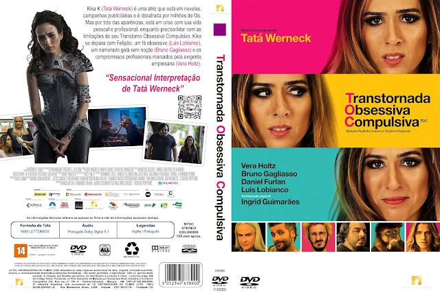 Capa DVD T.O.C. Transtornada Obsessiva Compulsiva [Custom]
