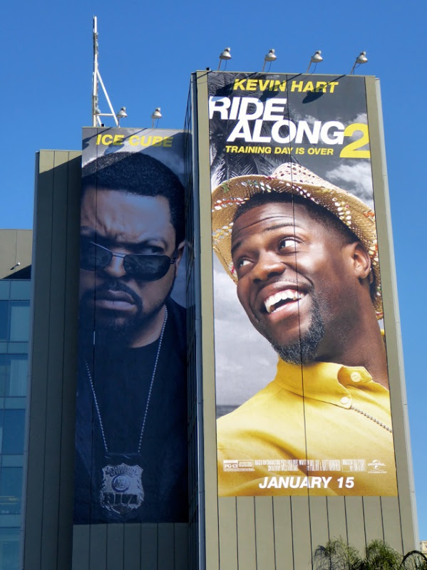 Giant Ride Along 2 movie billboard