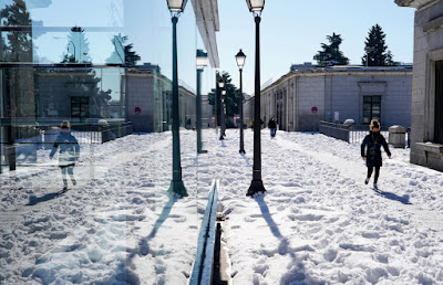 Record cold in Spain after the snowstorm