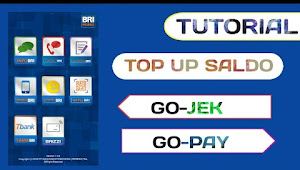 Langkah-langkah Top Up Gopay Lewat Mobile Banking BRI
