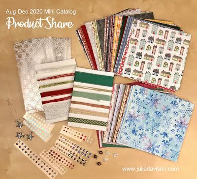 Stampin' Up! Aug-Dec 2020 Mini Catalog Product Share ~ www.juliedavison.com
