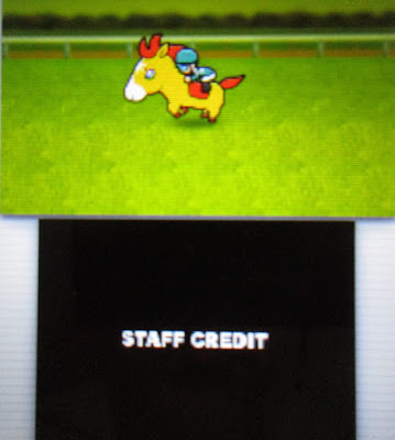 Pocket Card Jockey staff credits horse game 3DS solitiba