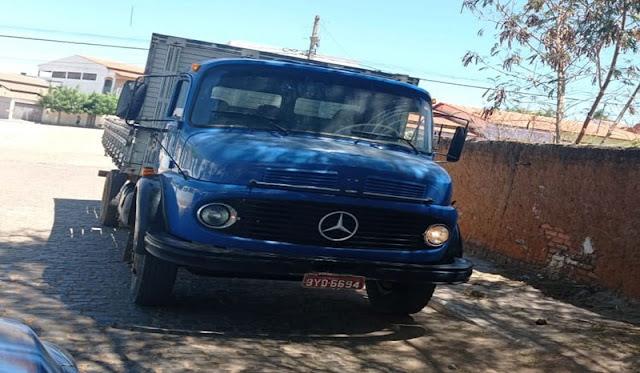 Produto de estelionato, caminhão é recuperado pela PM em Livramento de Nossa Senhora