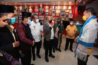 Bupati Taput Usulkan Perbaikan Infrastruktur dan Pembangunan Universitas Negeri Kepada Wagub Sumut