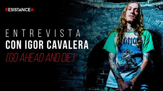 """#Entrevista con Igor Cavalera (Go Ahead and Die) """"Con inspirar a una sola persona con nuestra música, nos damos por pagados."""""""