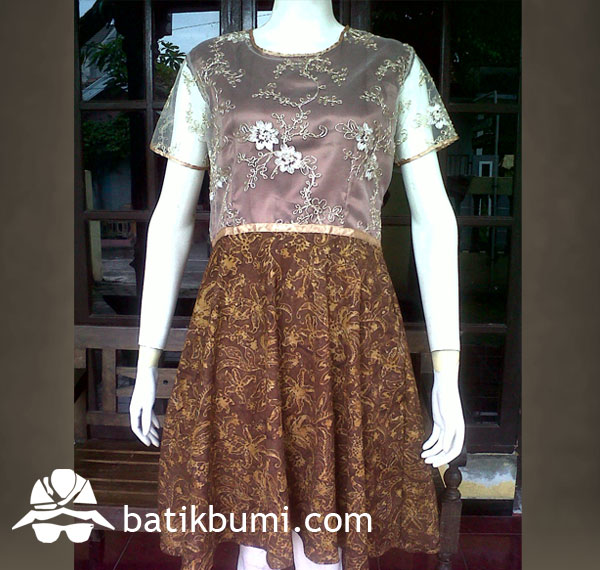 Dress BATIK CAP Smoke mix Tile Payet