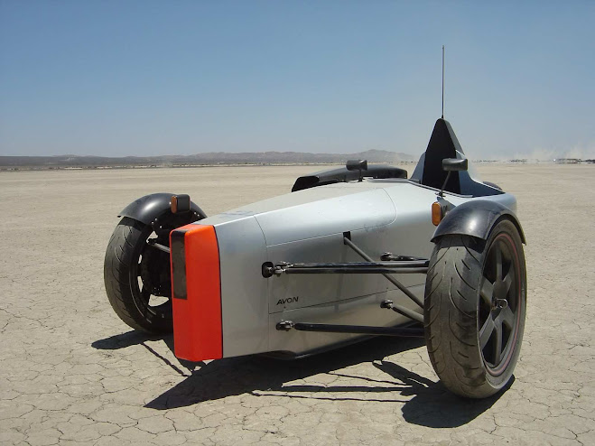 SUB G1 Single Seater Reverse Trike