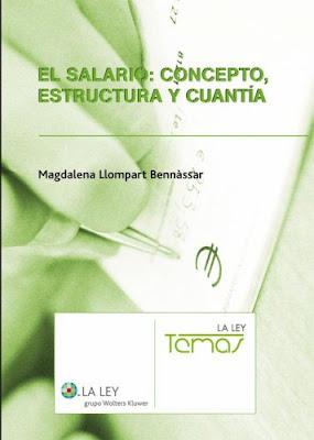 EL SALARIO CONCEPTO CLASE Y CUANTIA